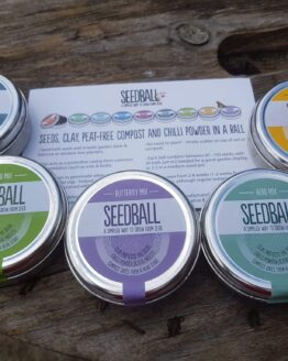 Seedball Seed Tins