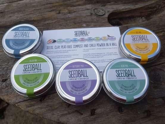 Seedball Seed Tins
