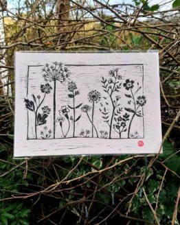 wildflower meadow print