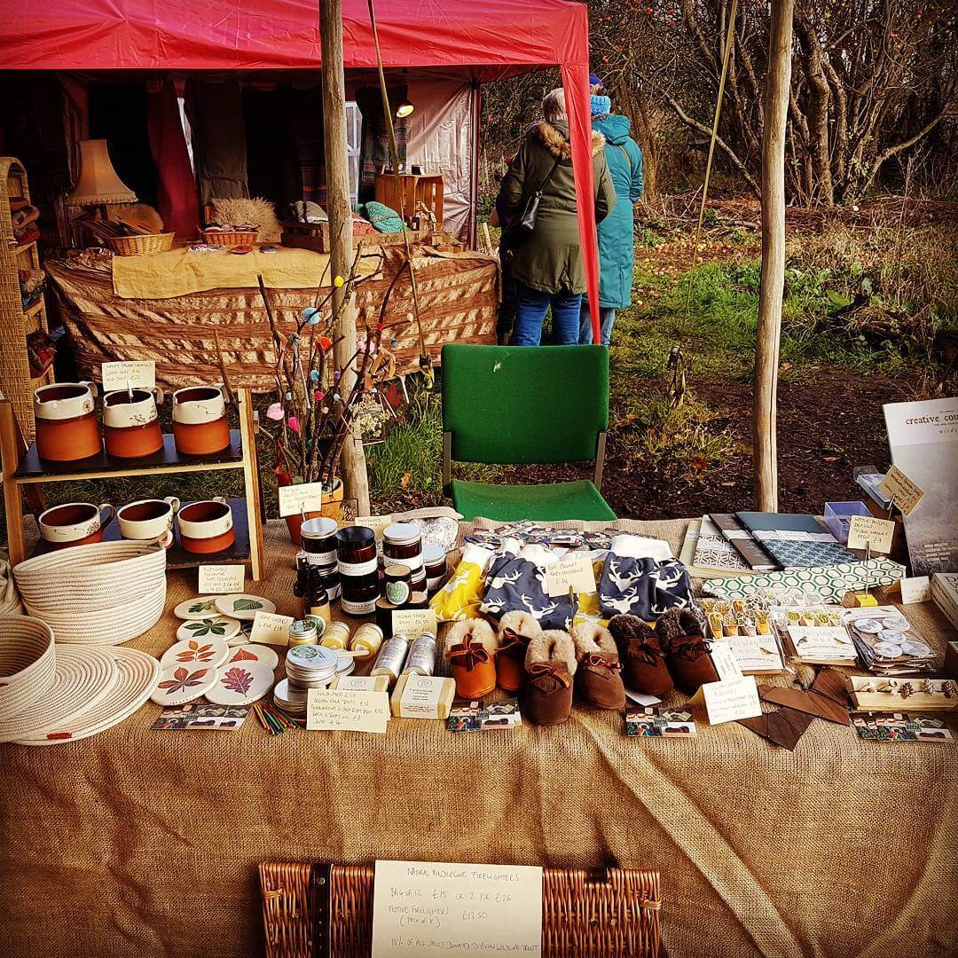 All set up at the avonwt Festive Fayre and thehellip