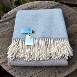 Atlantic Blankets Duck Egg Windmill Block Throw