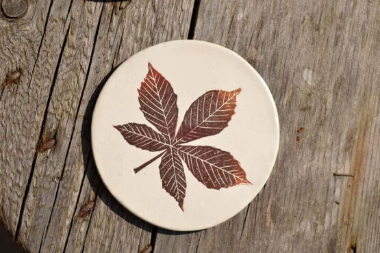 CBK Chestnut Autumn Red Coaster