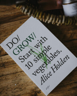 Do Grow book close up