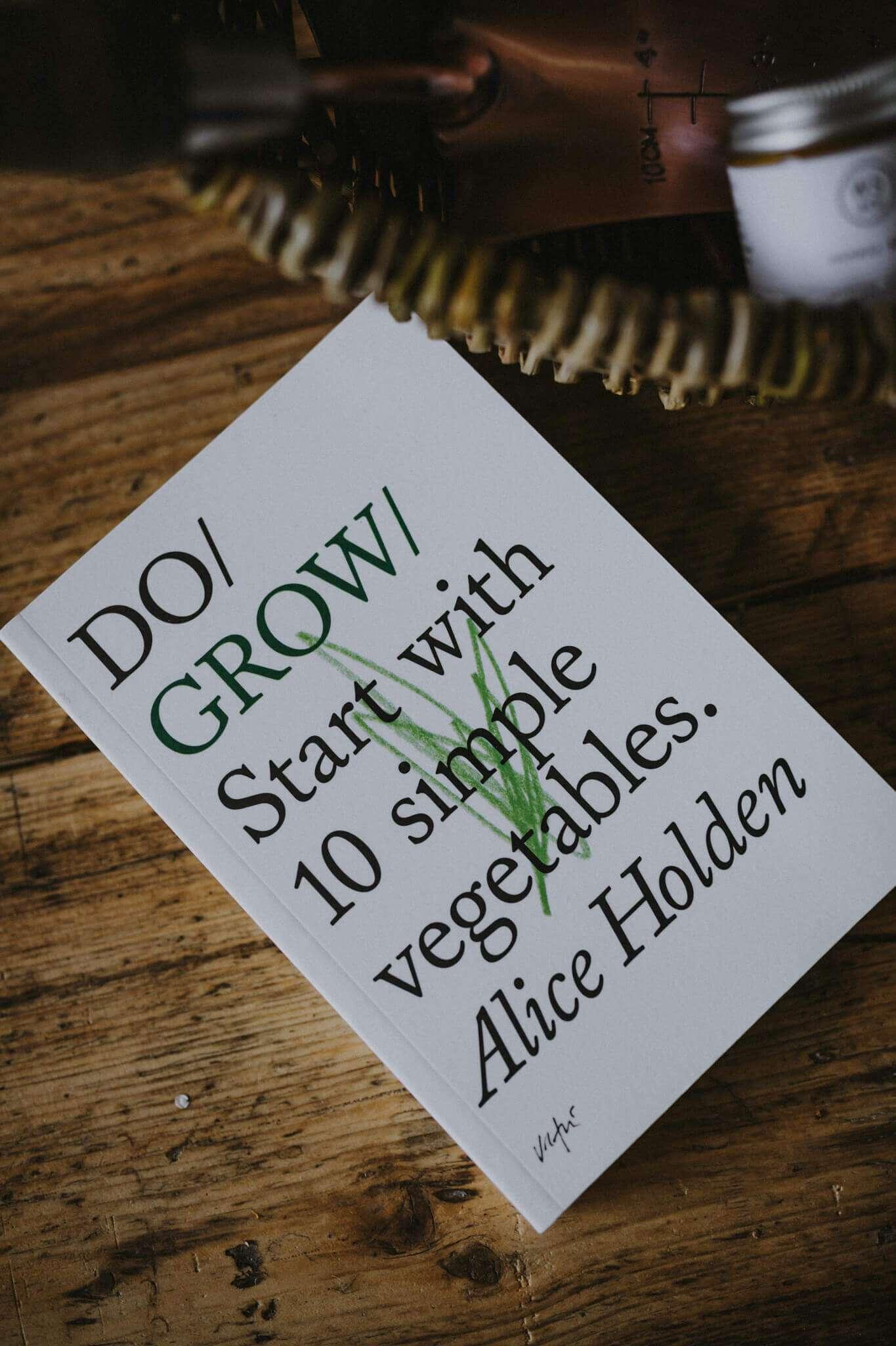 Do Grow book close up