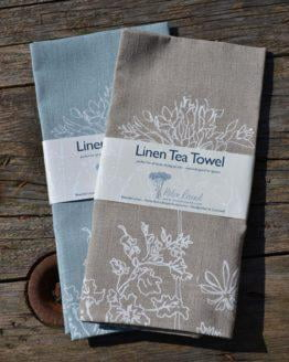 Helen Round Linen Tea Towels