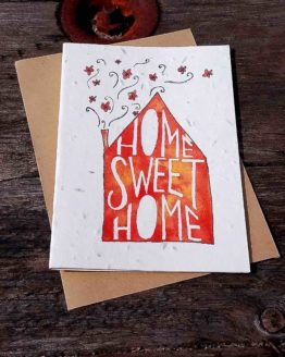 Plantable Wildflower New Home Card