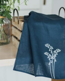Linen-Tea-Towel-Bluebell-Collection