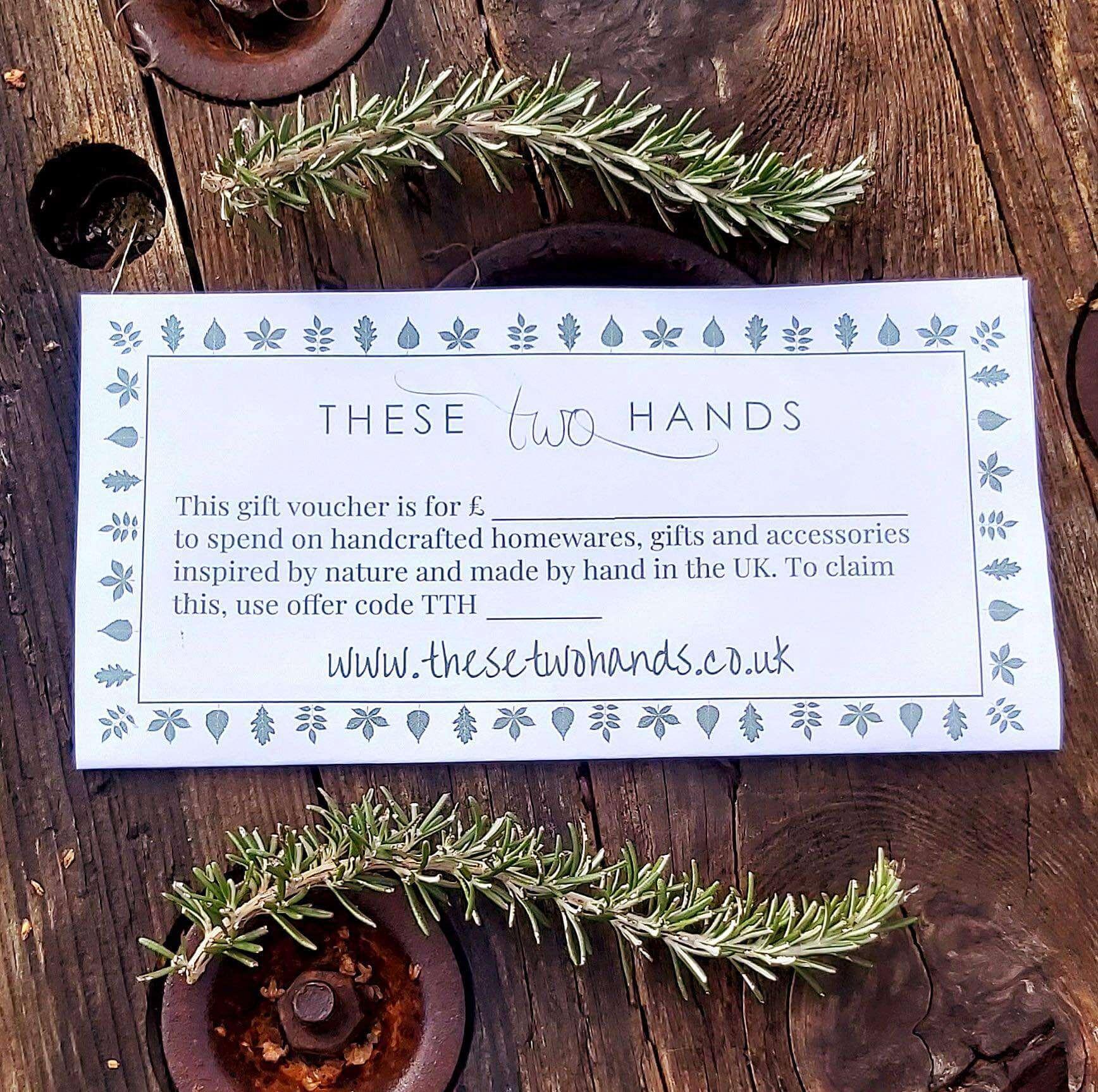 TTH gift voucher
