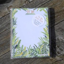 Fern To-Do List Notepad
