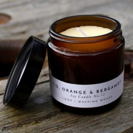 Fig, Orange & Bergamot soy candle