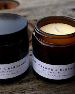 Fig, orange & bergamot soy candles