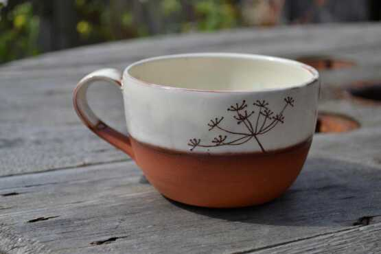 Wendy Calder Cow Parsley Coffee Cup