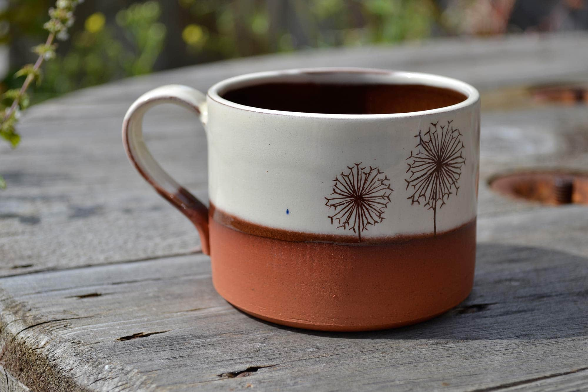 Wendy Calder Dandelion Coffee Cup