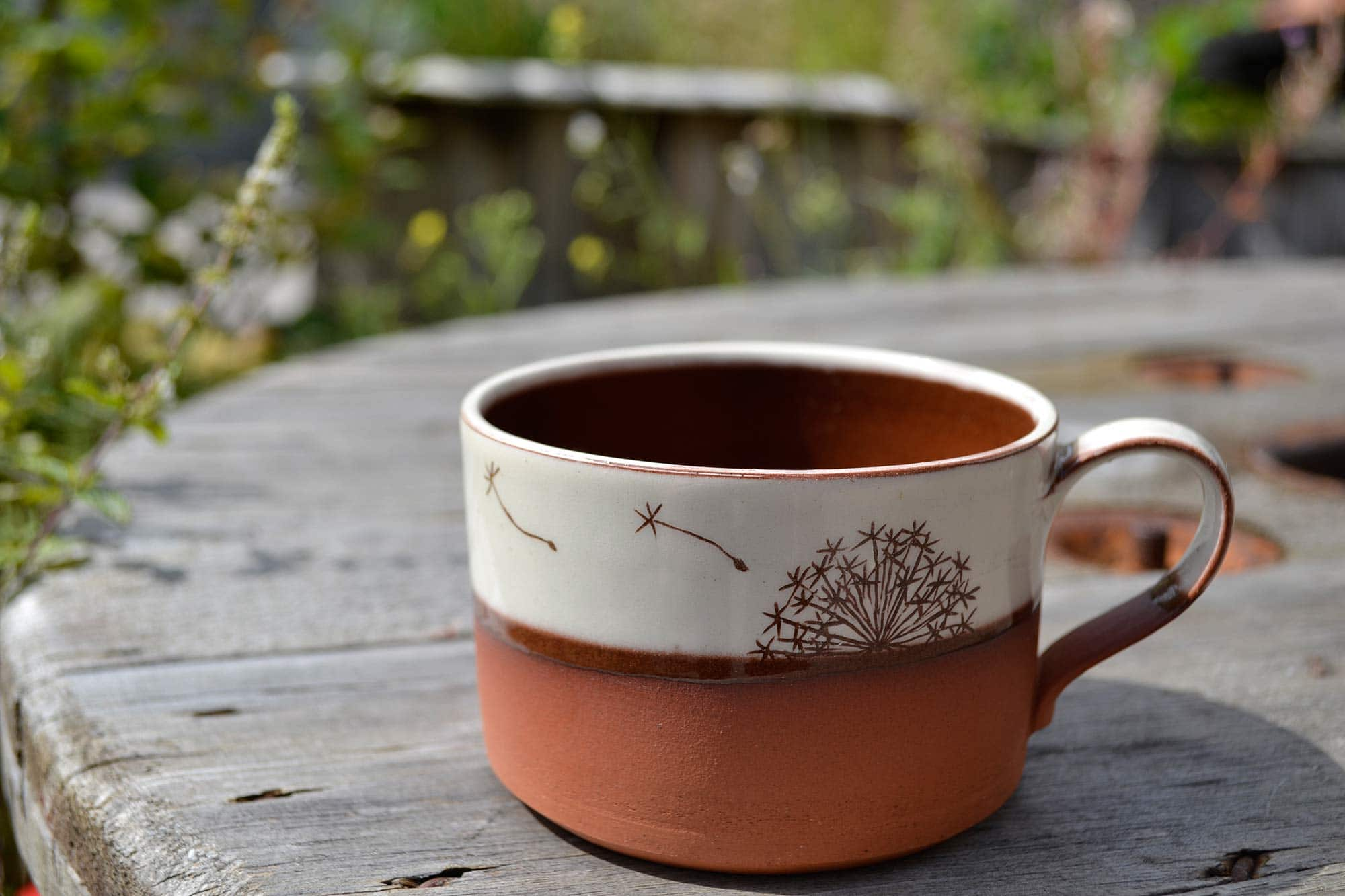 Wendy Calder Allium Coffee Cup