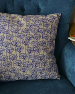 Megan Alice England - Cornflower Print Cushion