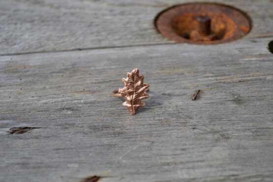 Oak Leaf Ring Copper