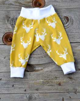 Jess Clogg Yellow Baby Print Trousers