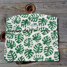 Cheeseplant Print Peg Bag