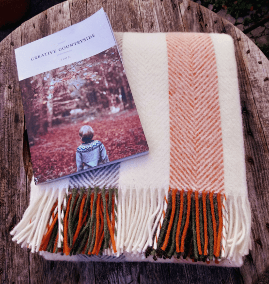 woodland stripe blanket