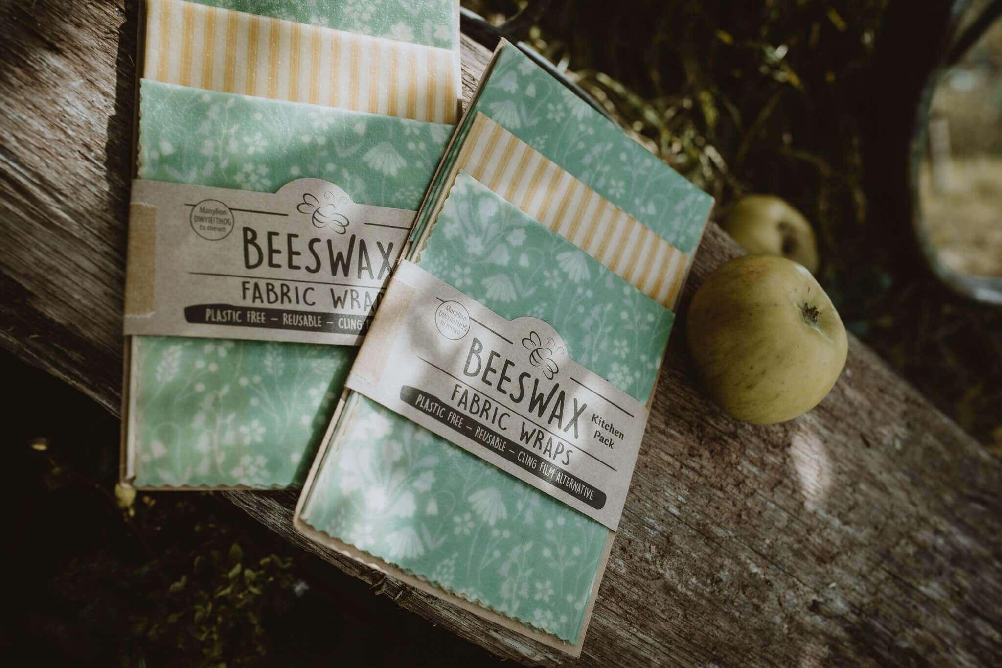 beeswax wraps packs