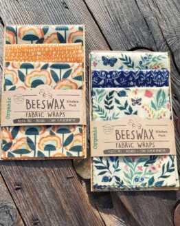beeswax wraps new organic designs