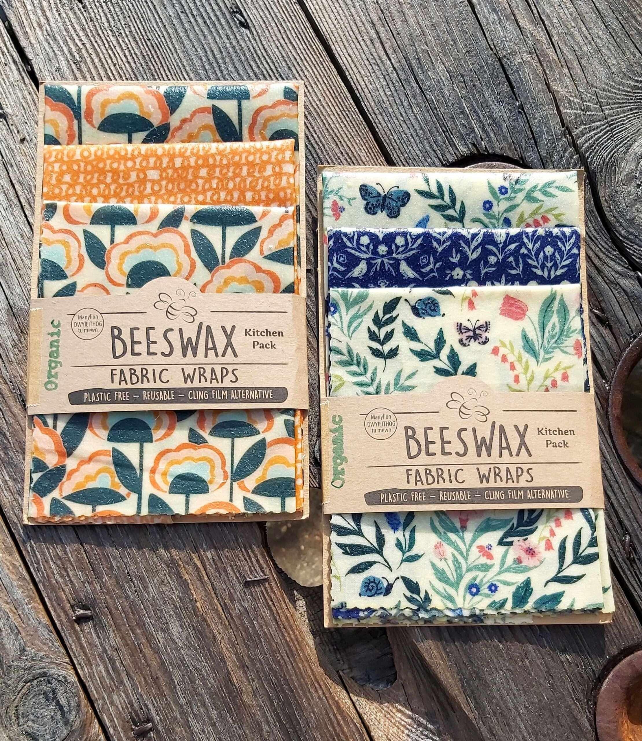 Beeswax Wraps - Butterflies & Flowers