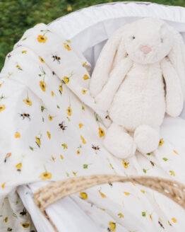 buttercups and bumbles in cot