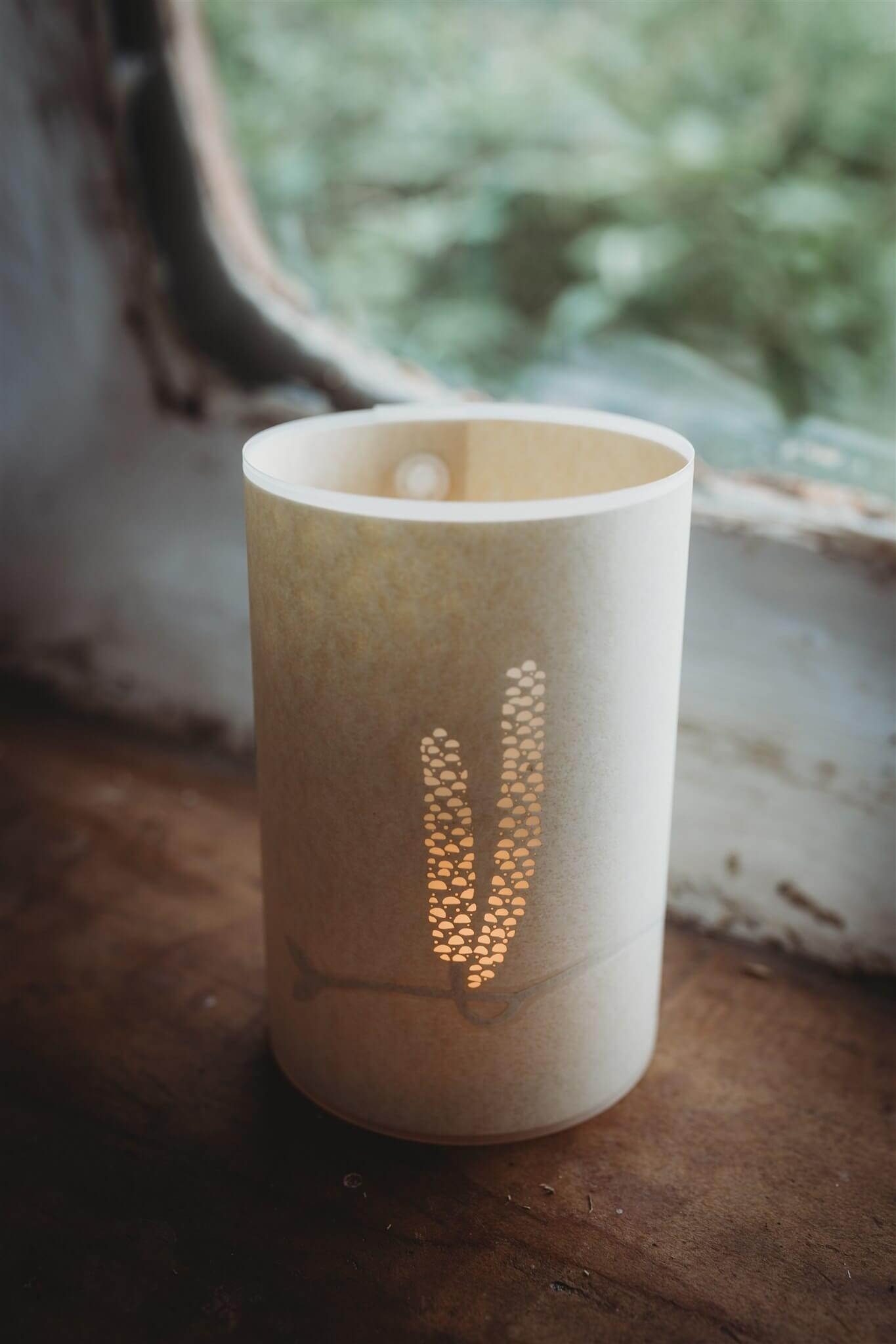 candle cover top down