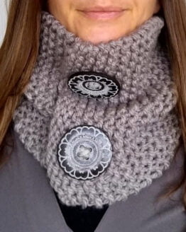 cowl on neck