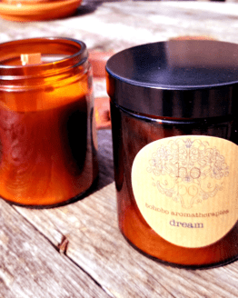 dream aromatherapy candle