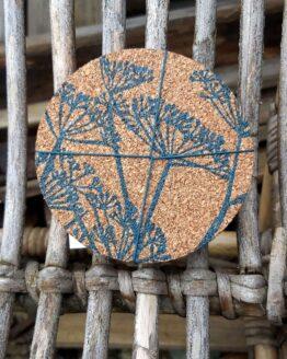 fennel cork coasters