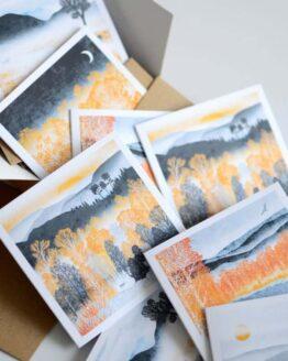 golden forest cards loose