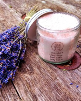 lavender and clary sage bath salts