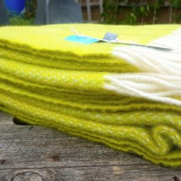 lemon and lime throw side view