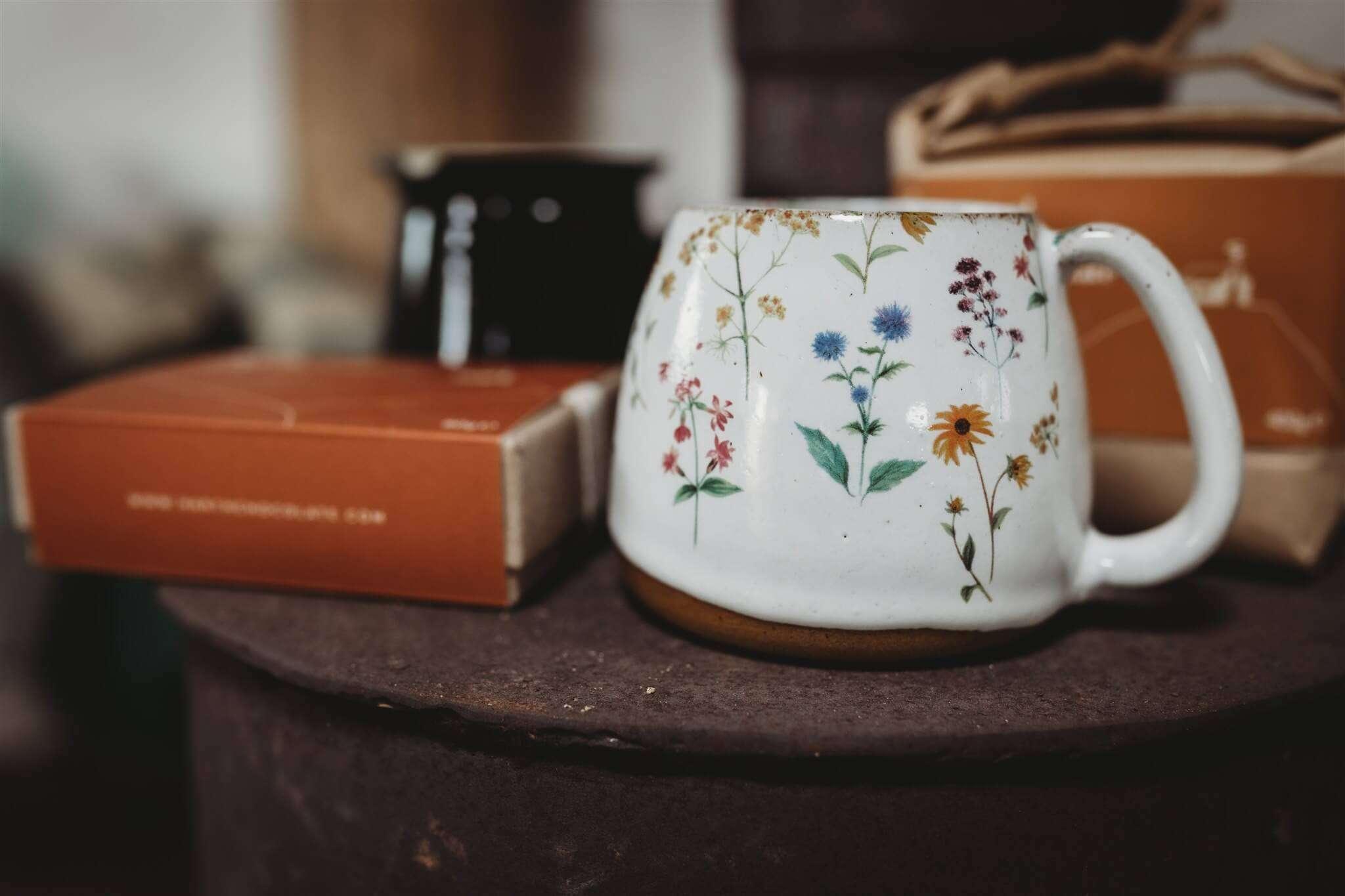 large wildflower mug main