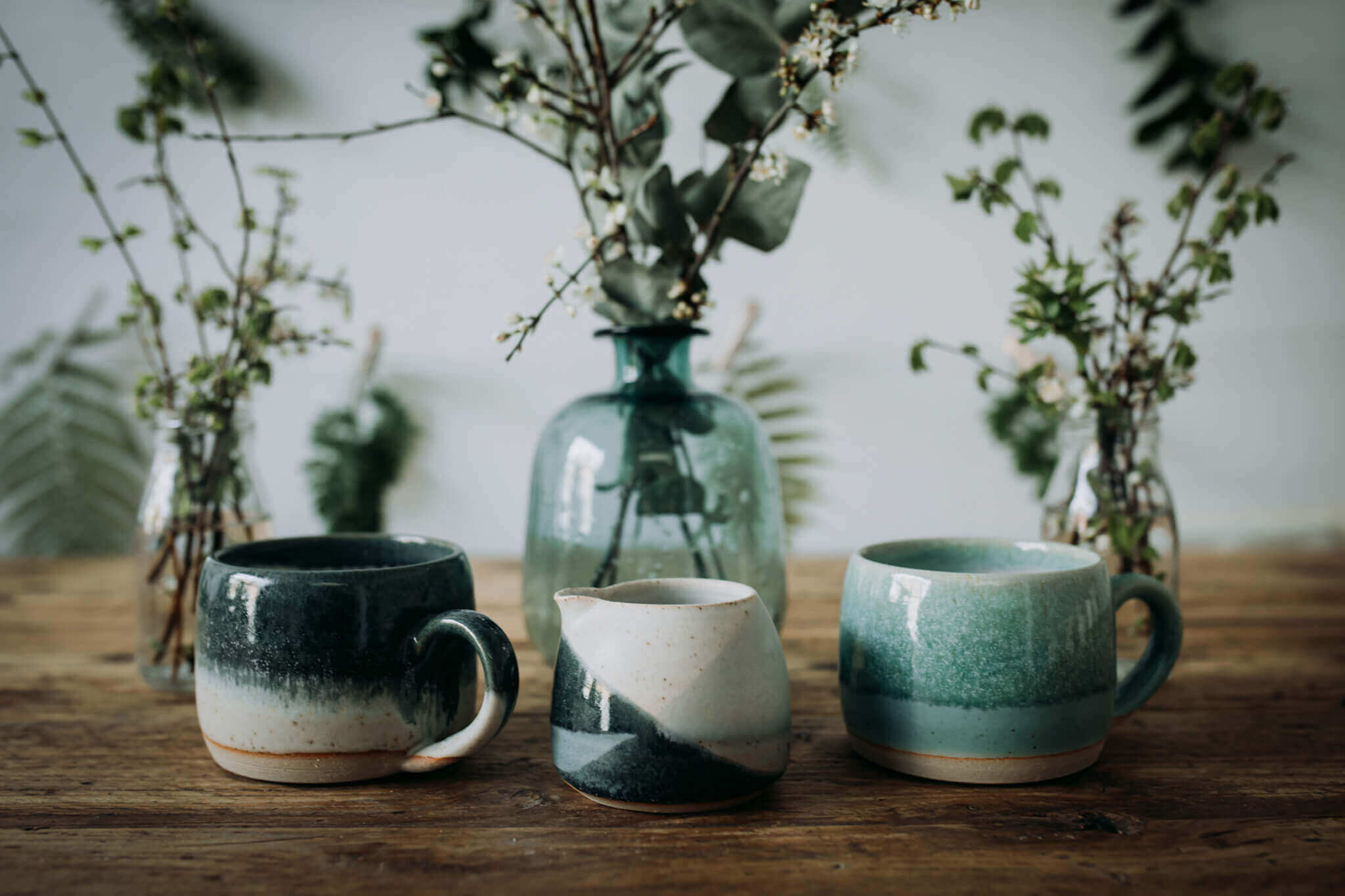 liz vidal hug mugs and new milk jug