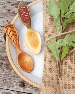 lunchbox wooden spoons