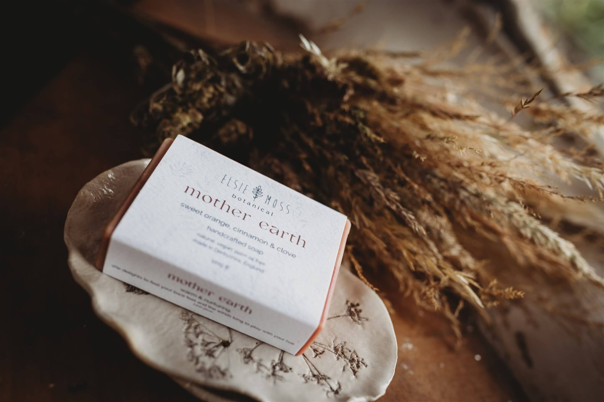 mother earth soap packaged