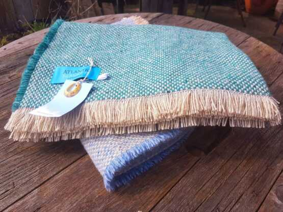 recycled picnic blankets