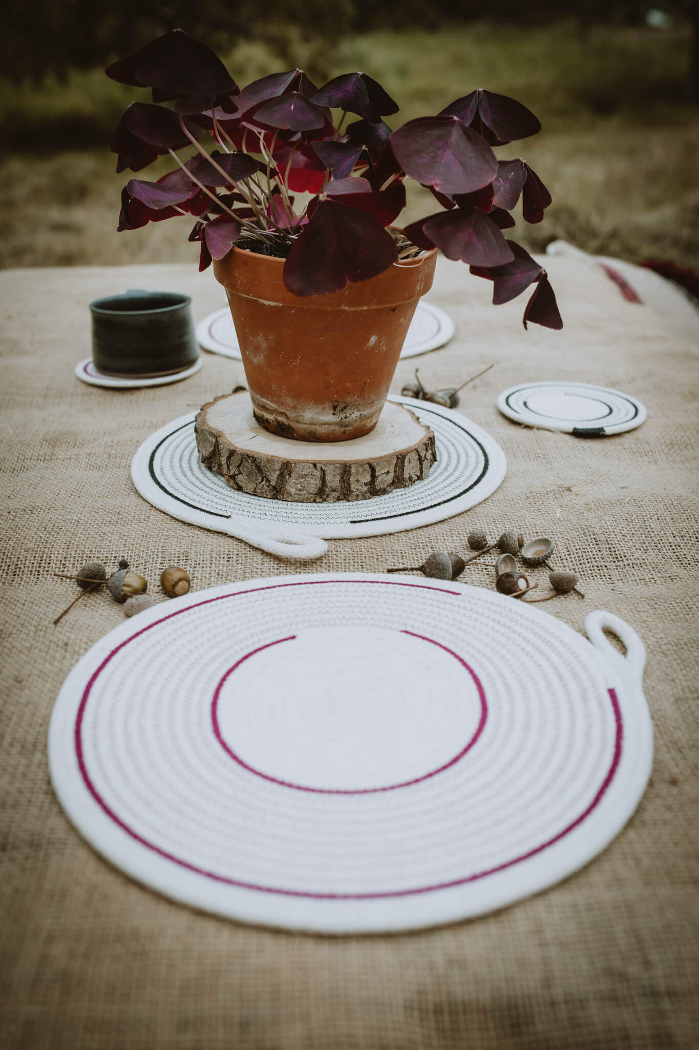 rope placemats
