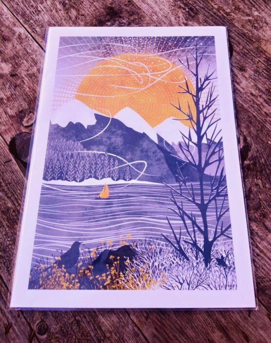 ruth thorp sail in the wind print