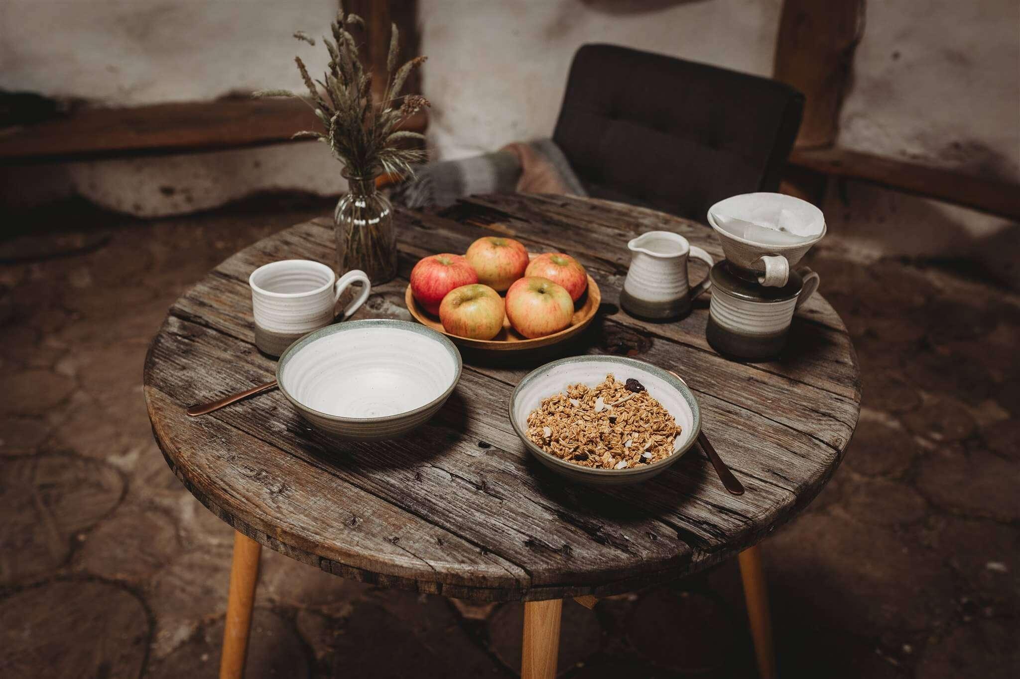 tim fenna stoneware breakfast bowls lifestyle