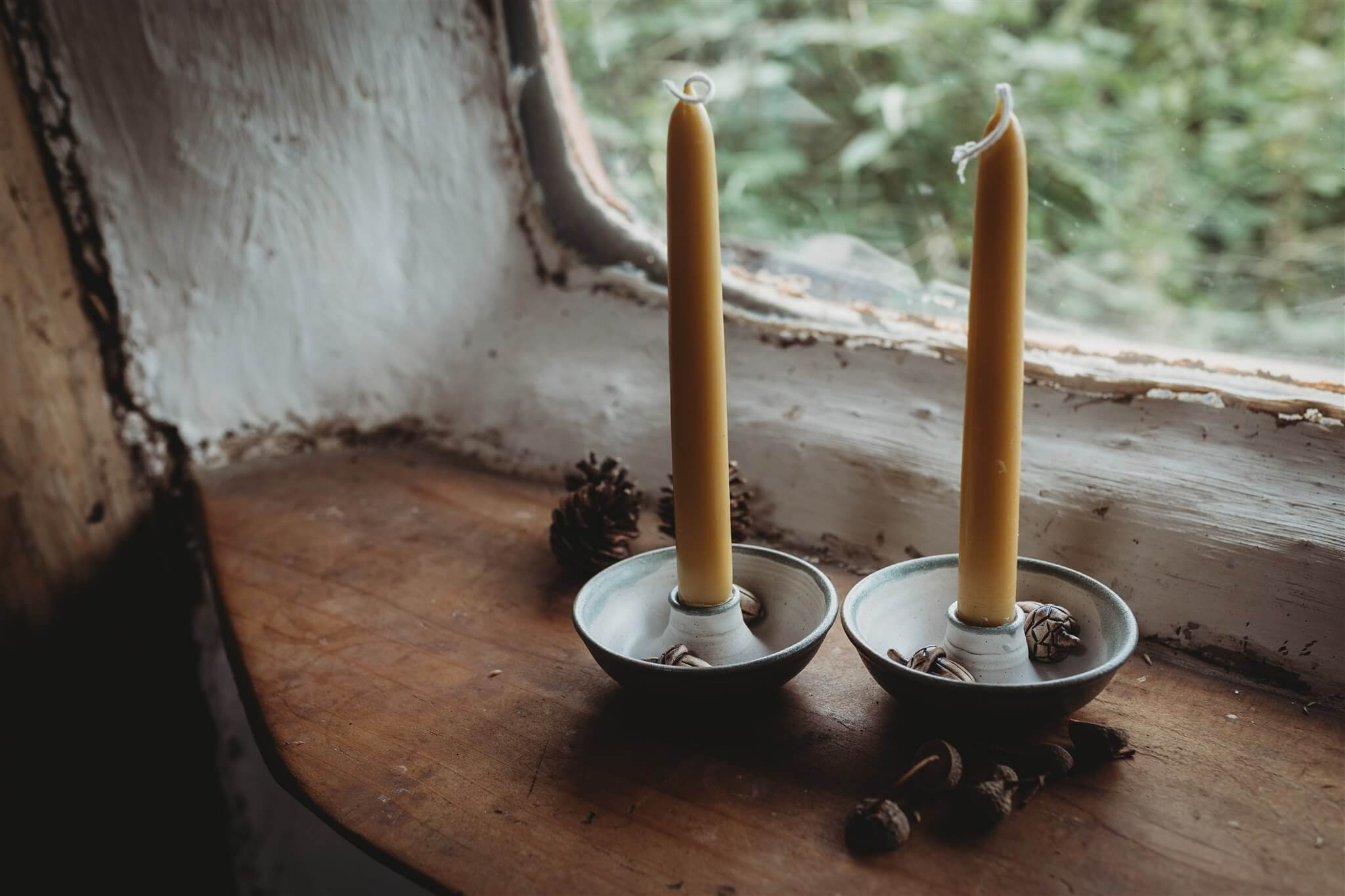 tim fenna candle holders top down