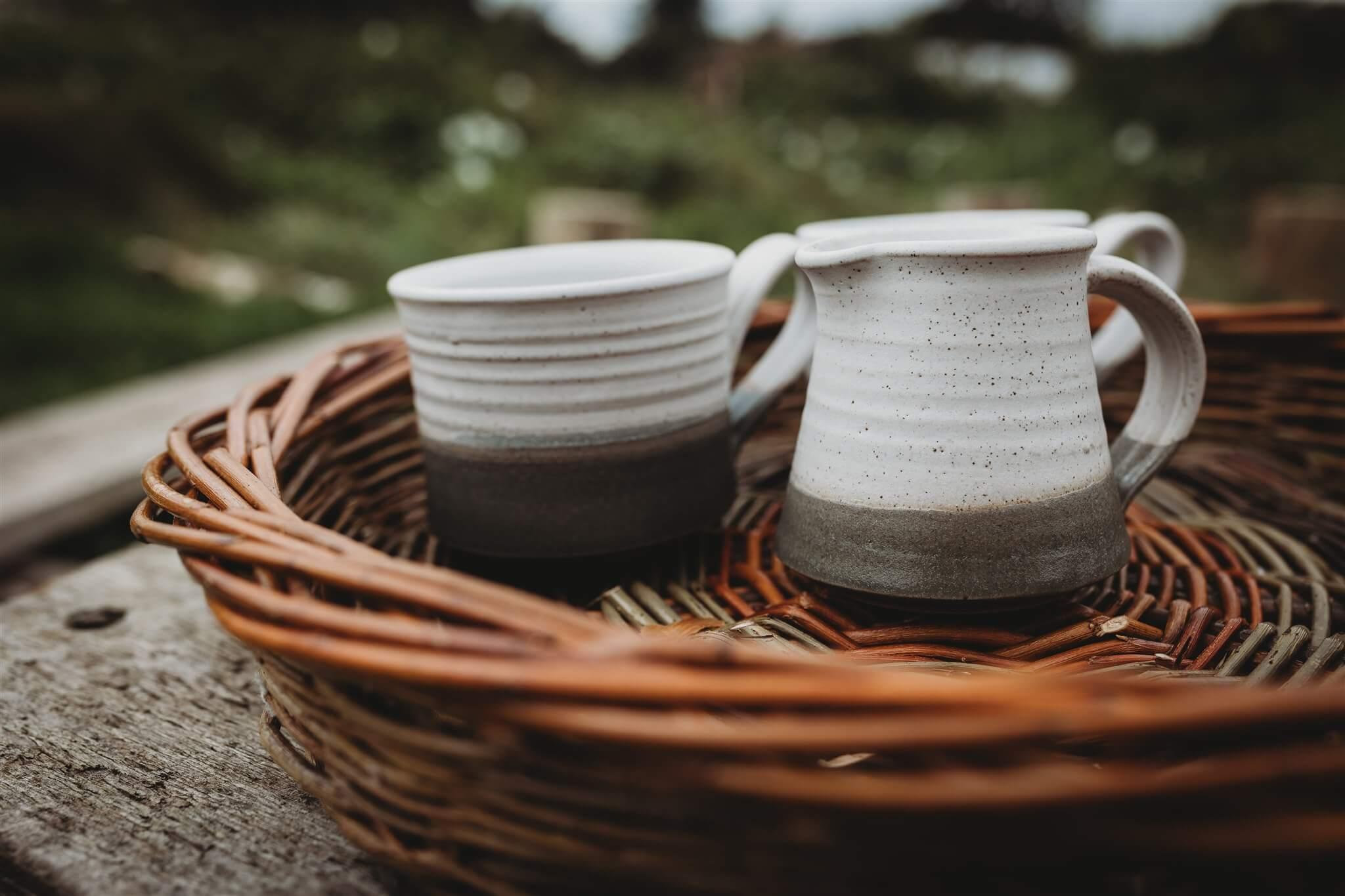 stoneware milk jug main