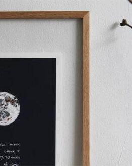 wearestardust copper moon print