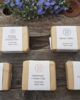 wild sage soaps group shot