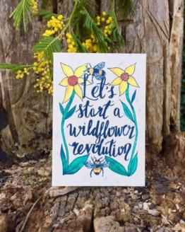wildflower revolution card