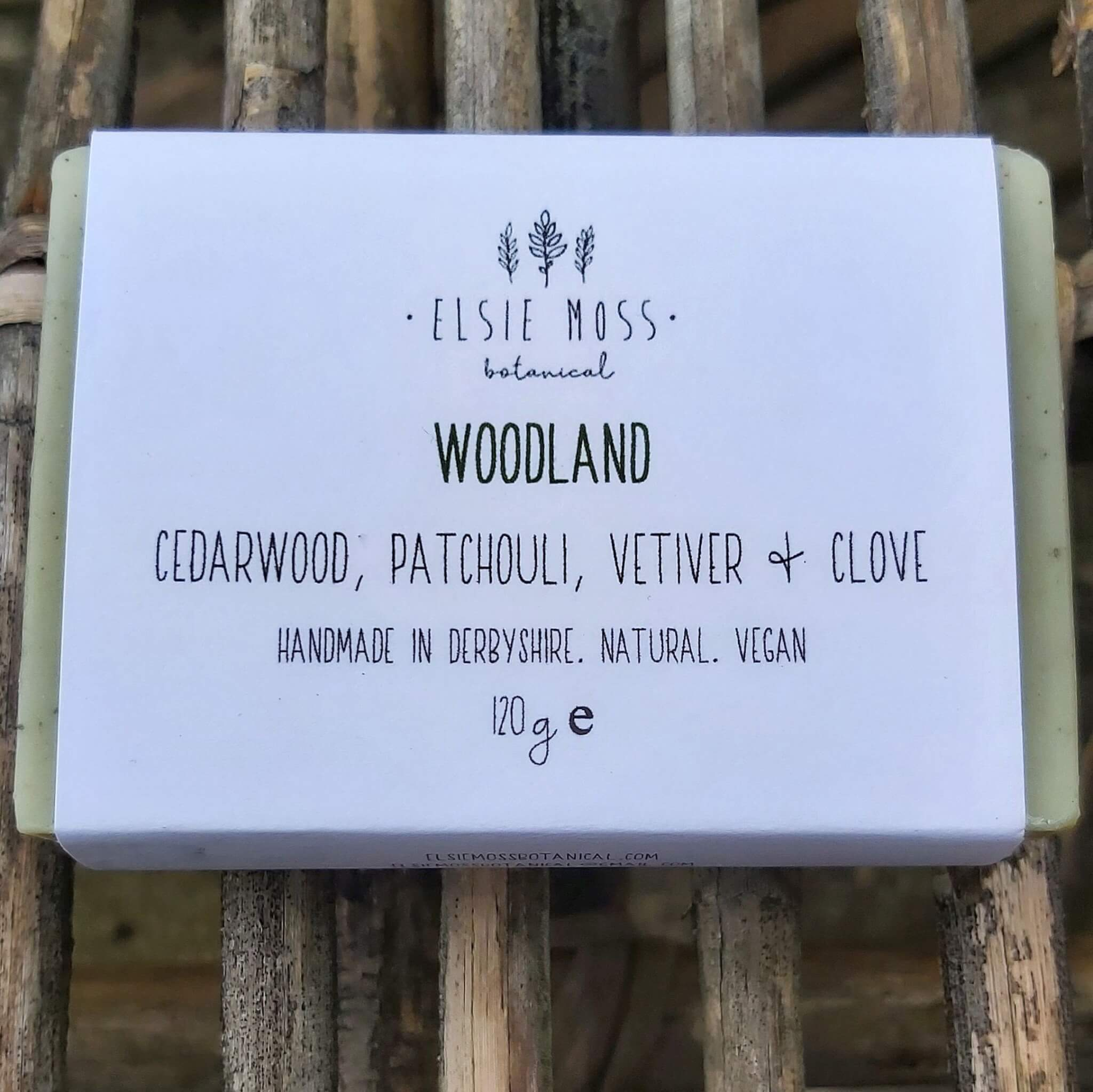 woodland soap close up