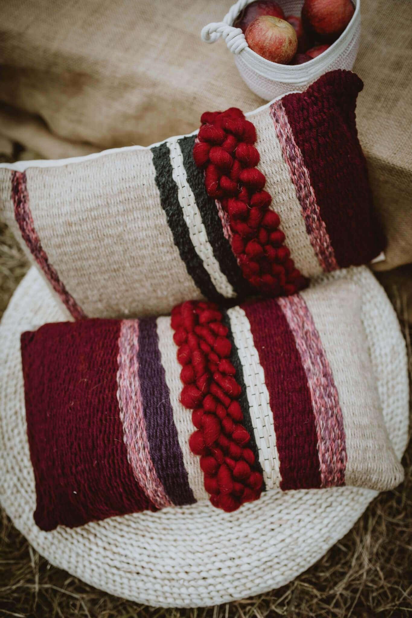 woven cushions main